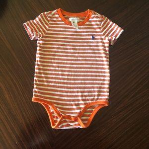Polo by Ralph Lauren baby bodysuit , Size: 9M